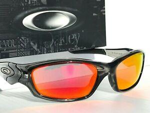 NEW Oakley STRAIGHT JACKET Grey Smoke POLARIZED Galaxy Ruby Sunglass 9039 12-935