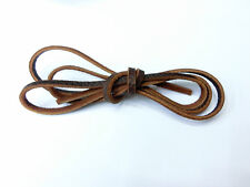 Genuine Pure Leather Rope DIY Leather Necklace Bracelet Rope 100 cm x 0.4 cm