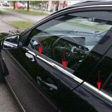 01-07 for Mercedes C Class W203 Sedan Window Belts Line Trims Moulding Stainless