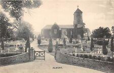 POSTCARD  SURREY  ALBURY  CHURCH   Circa  1913