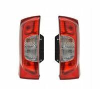 Feu arrière droit et Gauche (Paire) Peugeot Bipper Citroen Nemo Fiat Fiorino