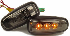 Eagle Eyes LED Side Lights Repeaters Smoked For Mercedes Benz C208 1997-2002
