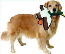 Tuffy's Barnyard Duck Squeaky Plush Dog Toy