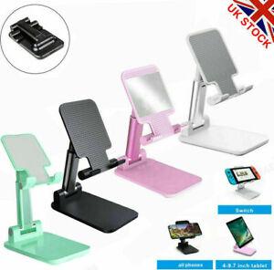 Universal Adjustable Portable Mobile Phone Stand Desktop Holder Table Desk ipad