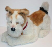 Steiff Stuffed Animal Junior Treff Terrier Dog Mountain Germany Tag Knopf Im Ohr
