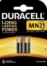2 Piles DURACELL MN21 A23 K23A V23GA - 12V DLC 2023 Blister