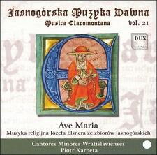 Ave Maria CD (2007)