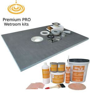 Wet Room Wetroom Shower Tray Kits Various Sizes in this listing (PRO)