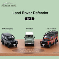 Almost Real 1:43 Scale Car Model Land Rover Defender 2015 Celebrations Series