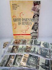 ARTE E PAESAGGI D'ITALIA (MARVI)-DELL'ARTE '57-FIGURINA a scelta (1/211)-Rec.