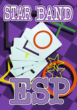STAR BAND ESP PREDICTION BICYCLE CARDS Rubber Mental Magic Trick Set Pocket Easy
