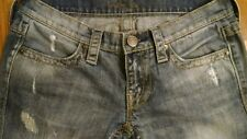 Women's Size 2 London jeans distressed low rise jeans HOT