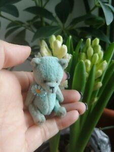 miniature teddy bear baby 2,4 inches