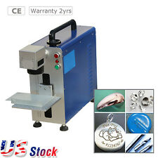 US Stock 20W Maxphotonic High Speed Fiber Laser Marking Machine, Air cooling