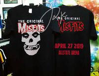 The Original Misfits tour concert Allstate Arena Chicago 2019 shirt. Venom Fear