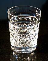 Beautiful Heavy Vintage Crystal Whiskey Tumbler