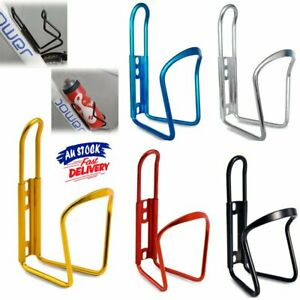 Aluminum Alloy Water Bottle Holder Sports Bike Bicycle Cycling Drink Rack Cage~D