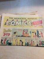 Sunday Comics Newspaper Section MILWAUKEE Journal - April 17 1960