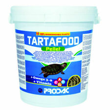 Prodac Tartafood pellet per tartarughe 250 ml - 1200 ml - secchiello 1kg 4000 ml