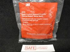 3M 2210 Static ESD control ground cord for Charge-guard wrist band, coiled  N34