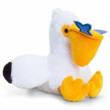 Pippins Pelican Soft Plush Toy 14cm Stuffed Animal by Keel Toys -