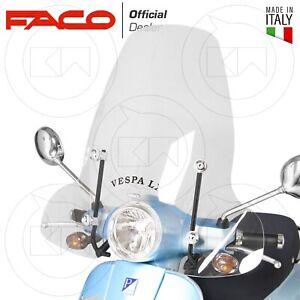 PARABREZZA PARAVENTO ALTO FACO + ATTACCHI PIAGGIO VESPA LX 50-125-150 2005-2014