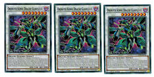3 x Supreme King Dragon Glass Leaf ledd-dec30, Mint, Common, Playset, German