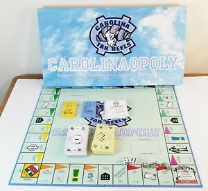 UNC Tarheels Carolinaopoly Replacement Part Game Preowned missing houses hotels