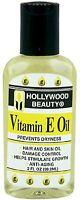 Hollywood Beauty Vitamin E Oil Hair - Skin Treatment, 2 oz (Pack of 2)
