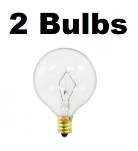 2 Pack Light Bulb for Large Scentsy Wax Diffusers/Tart Warmers, 25 Watt 130 Volt