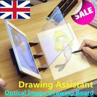 214E Pc Copy Station Portable Optical Drawing Fan Optical Painting Board Child