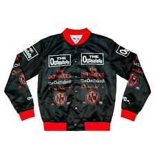 Outsiders NWO Chalk Line All Over Jacket Sz Large Black Red NWO WCW NEW