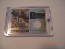 Franco Harris Steelers 2007 Leaf Limited Game Used Jersey Auto 24/25 Signed Card
