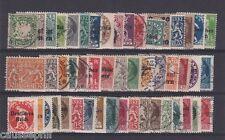 es - Allemagne BAVIERE 1900/1920, Joli lot 48 timbres différents