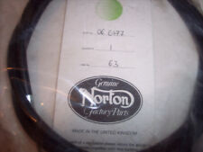 GENUINE NORTON CLUTCH CABLE 06-6477 COMMANDO ROADSTER 1971 AND UP