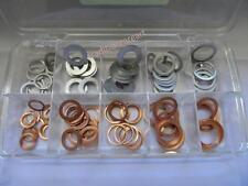 German copper / Aluminum oil drain plug washers Assortment 100pcs
