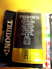 EP32-C TRIDON,12V,HDUTY3PRONG ELECTRONIC FLASHER,DOT,MADE IN USA,NEW IN BOX