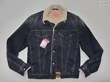 Levi's® Jacke Jeansjacke mit Fell, Gr. S, schwarz, NEU ! Winterjacke gefüttert !