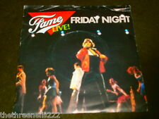 "VINYL 7"" SINGLE - THE KIDS FROM FAME LIVE! - FRIDAY NIGHT - RCA 320"