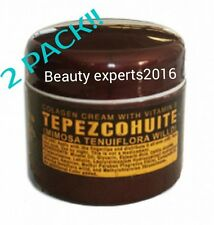 2 PACK!! TEPEZCOHUITE CREAM-COLLAGEN & VITAMIN E// CREMA DE TEPEZCOHUITE INDIO