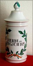 Faïences de Roanne, Pot à épices, Estampille de Leclercq et Lardin