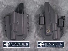 Raven Full Shield Holster For Glock 17 19 22 23 31 32 Surefire X300 Ultra A