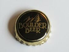 Beer Bottle Cap Crown ~ Boulder Beer / Wilderness Pub Mtns. ~ Collect Breweriana