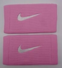 Nike Reveal Dw Doublewide Wristbands Pink Rise/Laser Fuchsia/White