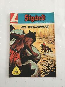 Sigurd Großband 165 Original Lehning unbeschriftet mit SM Zustand 2