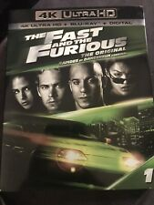 The Fast and the Furious 4K+Blu Ray + Digital new and sealed