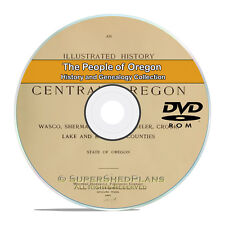 Oregon OR Civil War Family Tree History Genealogy 234 Books DVD H38