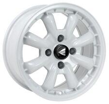 15x8 Enkei COMPE 4x114.3 +0 White Wheel (1 Rim only)