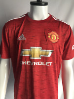Manchester United 20/21 Home Football Jersey Men's Soccer Red