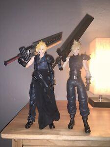 Final Fantasy VII Remake Advent Children Cloud Play Arts Kai Lot Loose